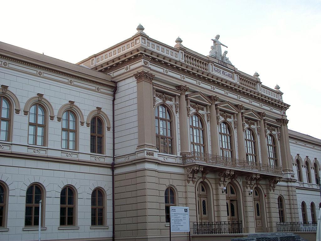 """Clădirea Colegiului Naţional """"Moise Nicoară"""