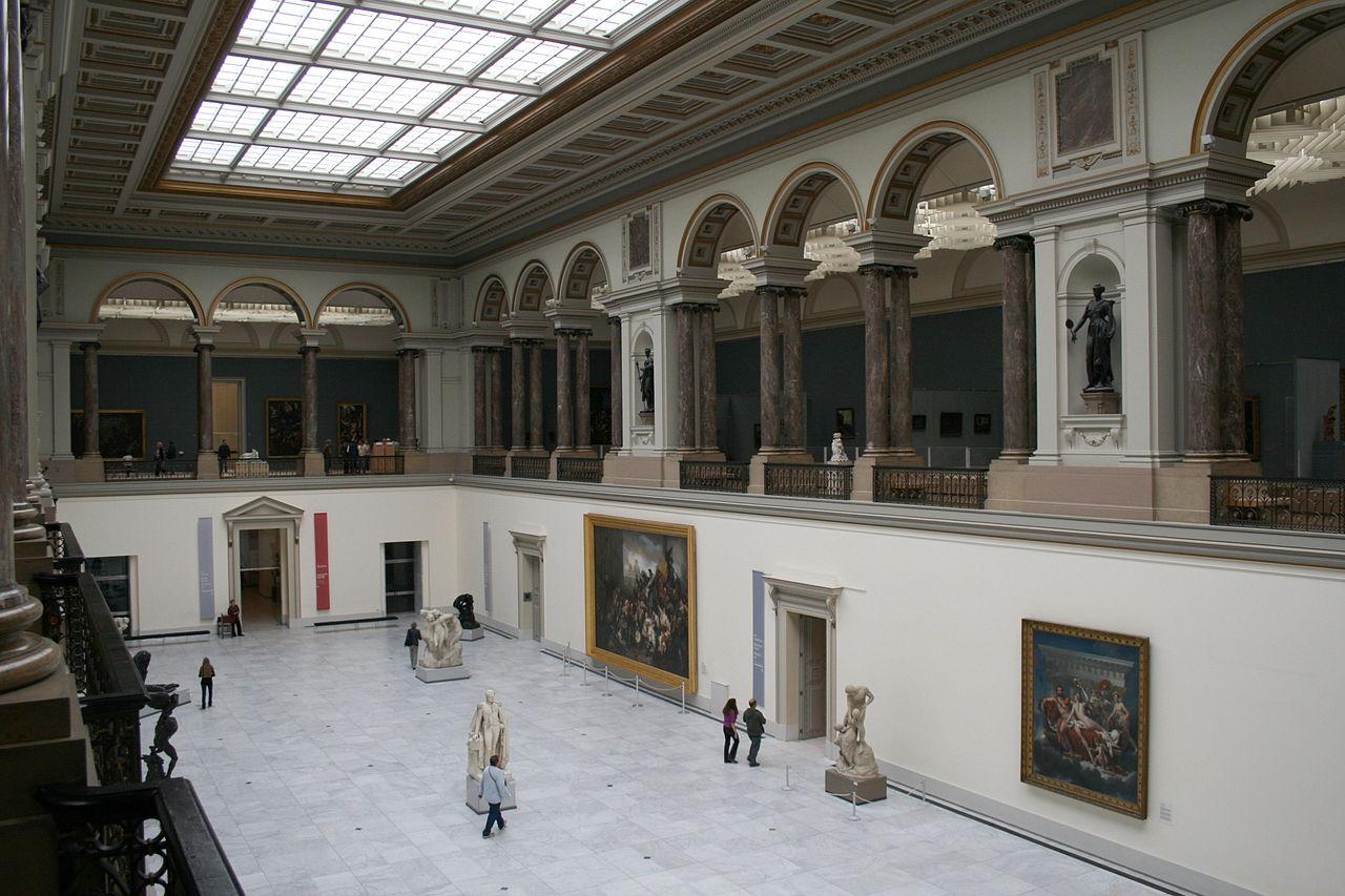 Clădirea Muzeului Regal de Arte Frumoase