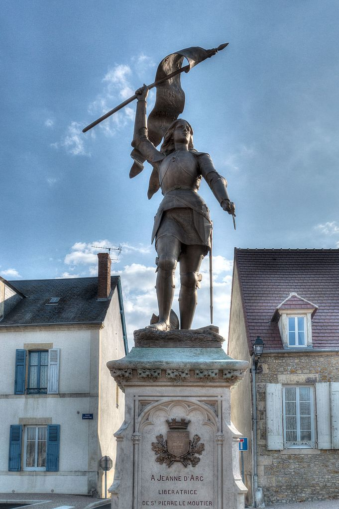Crucea memoriala a Ioanei d'Arc