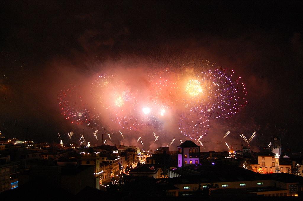 Focul de artificii din Ajunul Anului nou