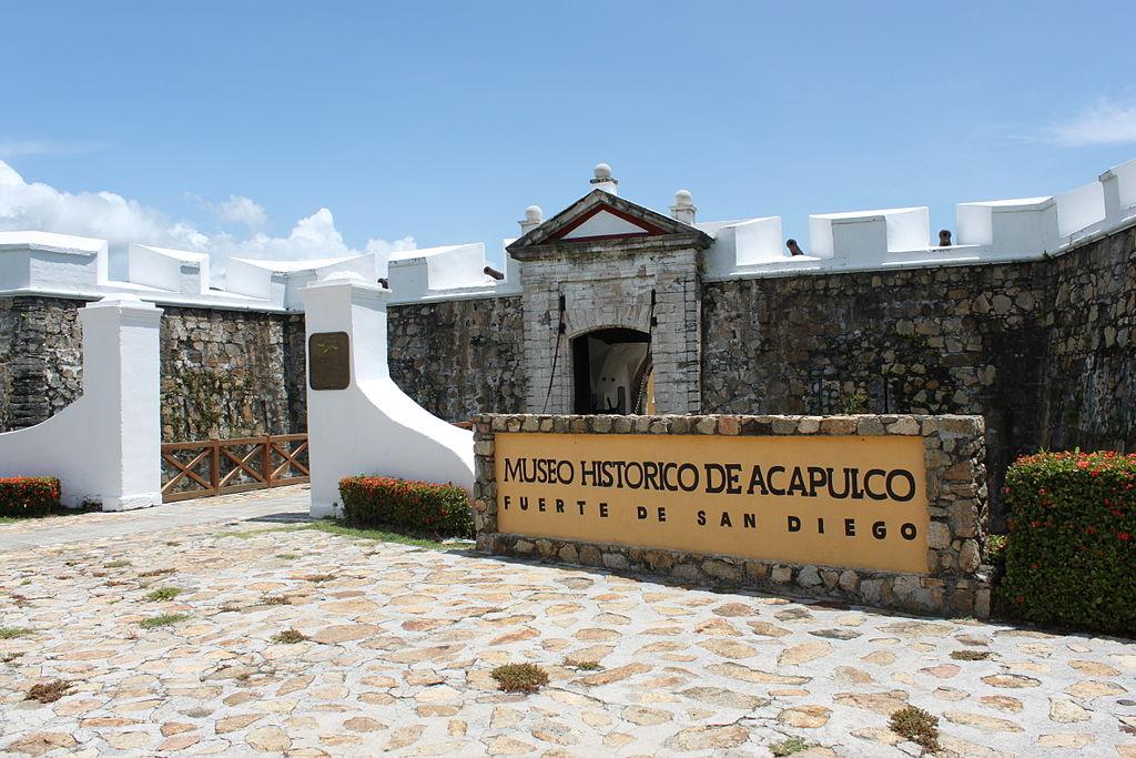 Fortul San Diego din Acapulco