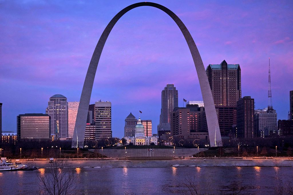 Gateway Arch din St. Louis