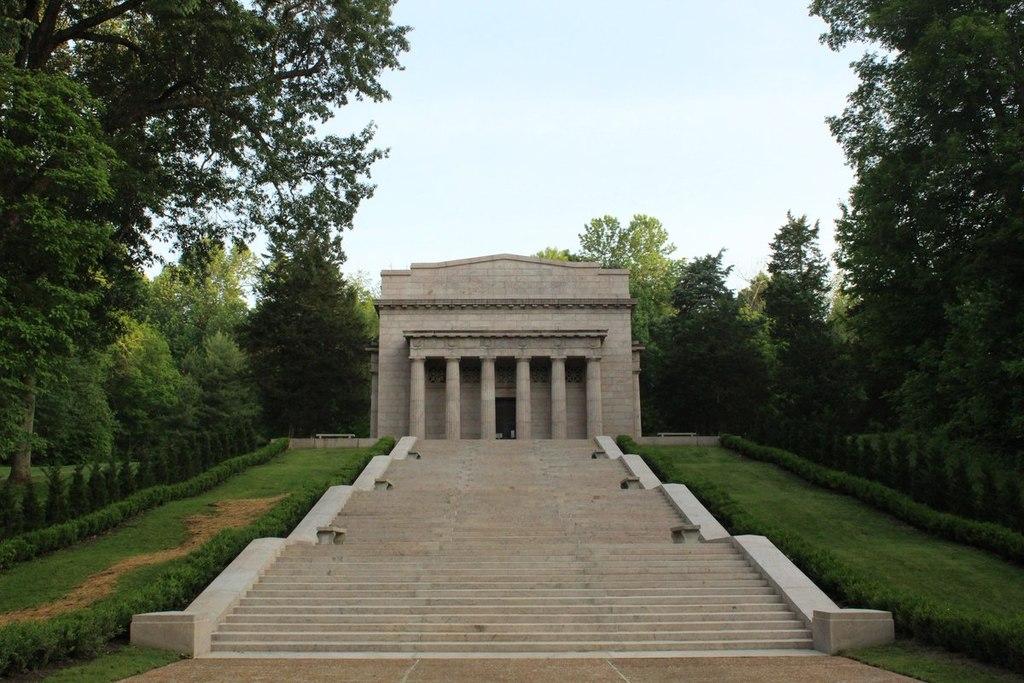 Gradina Memoriala Lincoln1