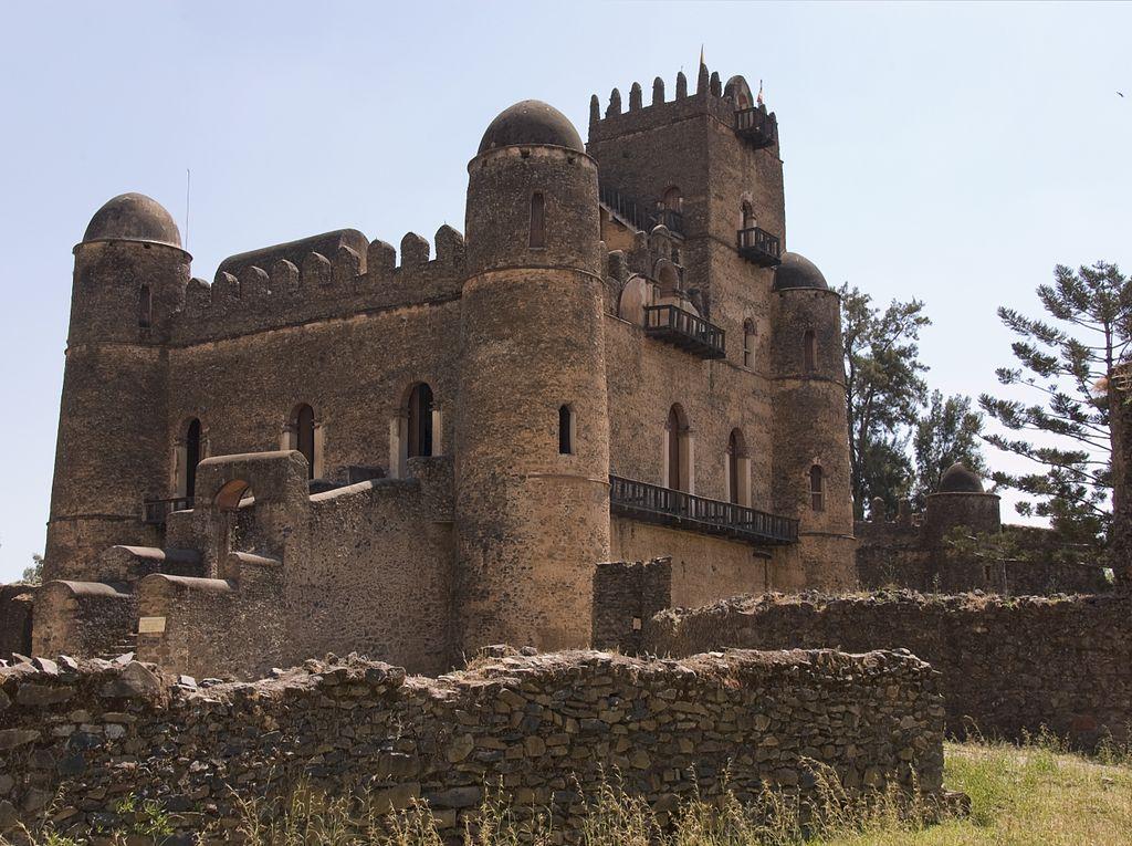 Incinta imperiala din Gondar1