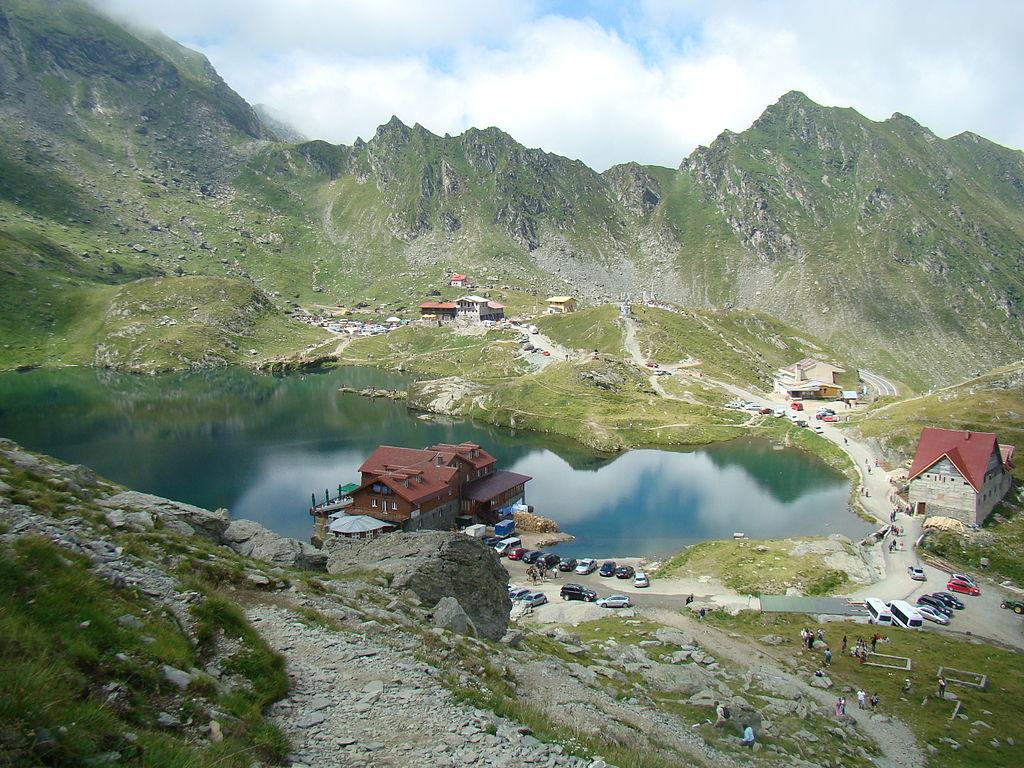 Lacul Balea view