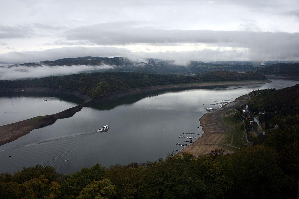 Lacul de acumulare Edersee11