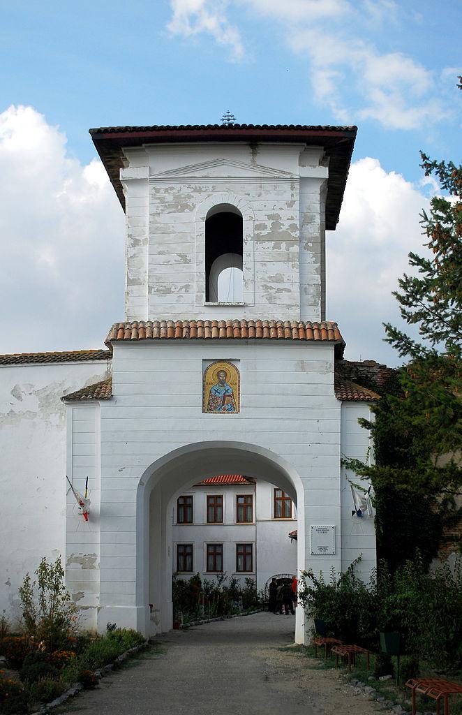 Mănăstirea Comana poarta intrare