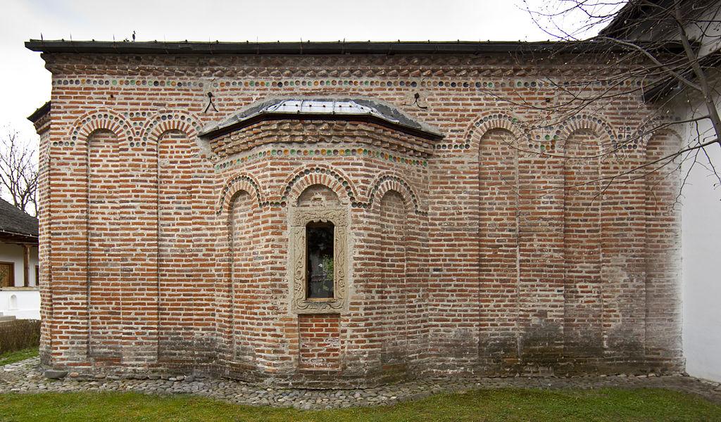 Mănăstirea Cotmeana dinspre Nord