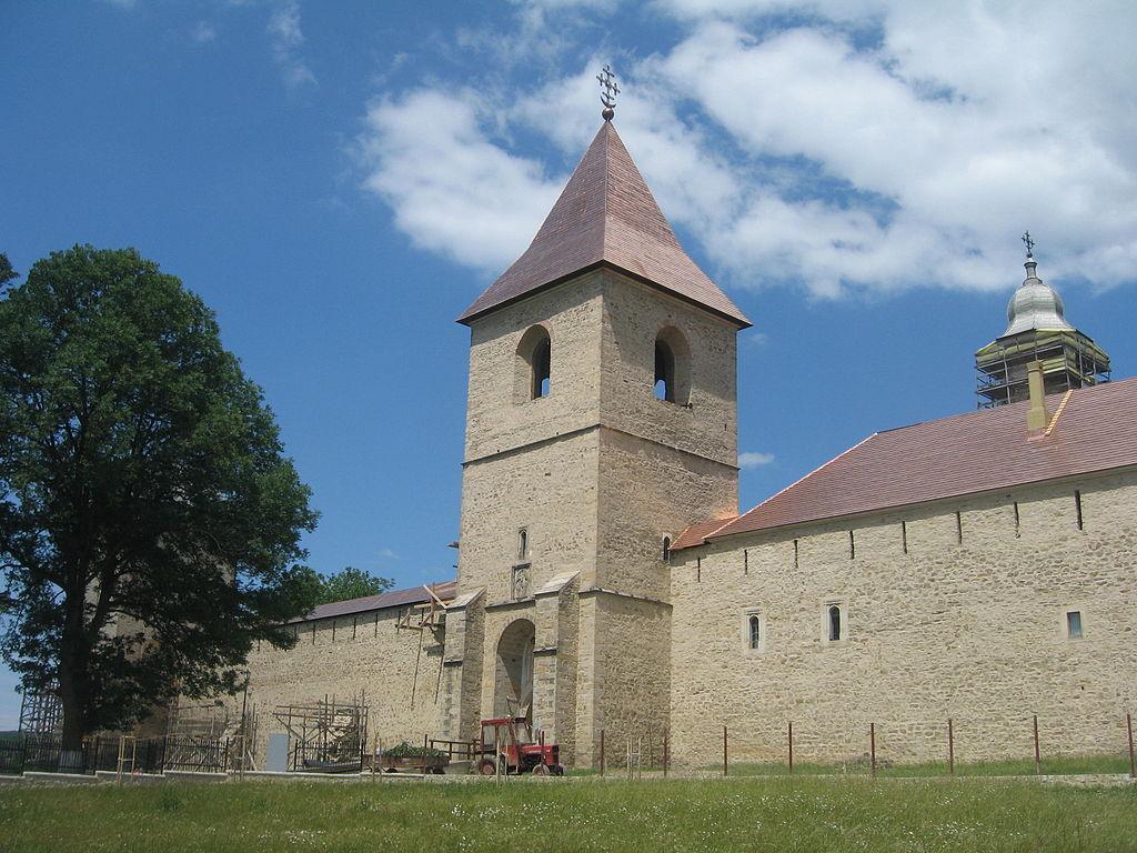 Mănăstirea Dragomirna intrare