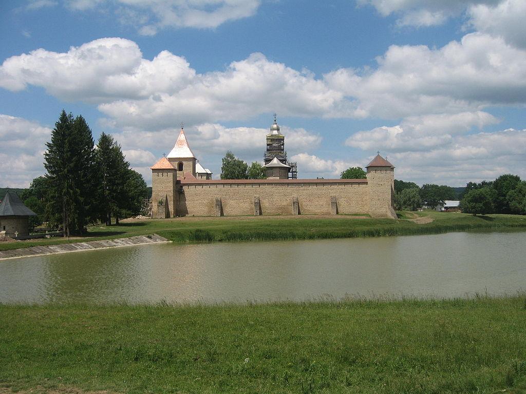 Mănăstirea Dragomirna view
