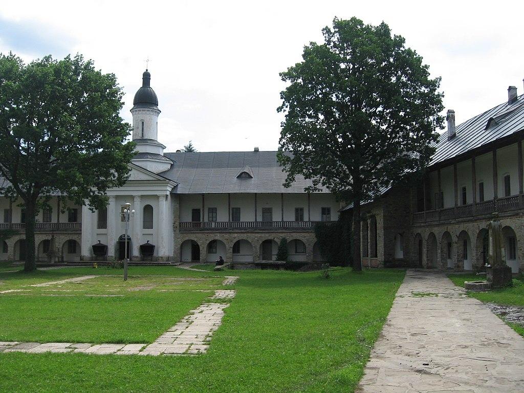 Mănăstirea Neamţ curtee