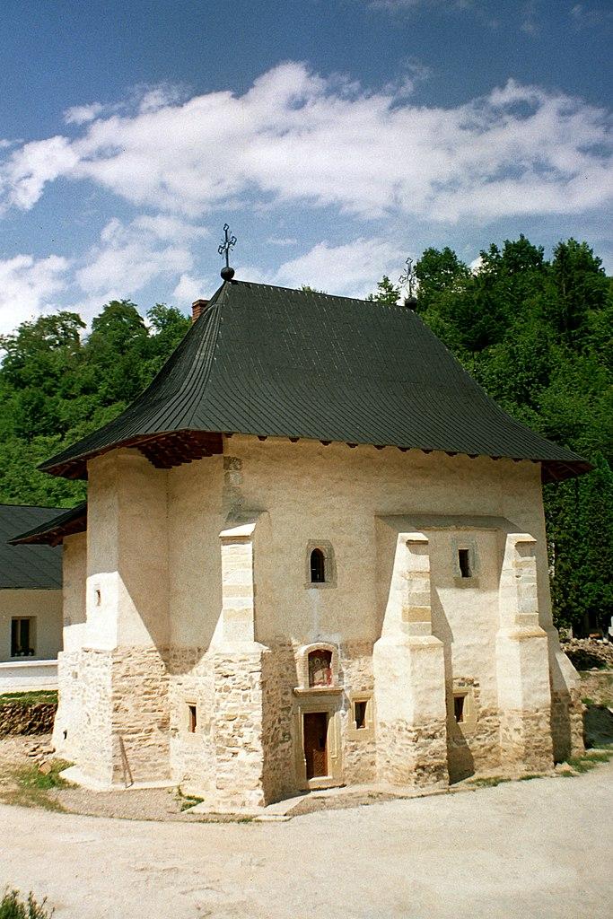 Mănăstirea Pângărați biserica veche