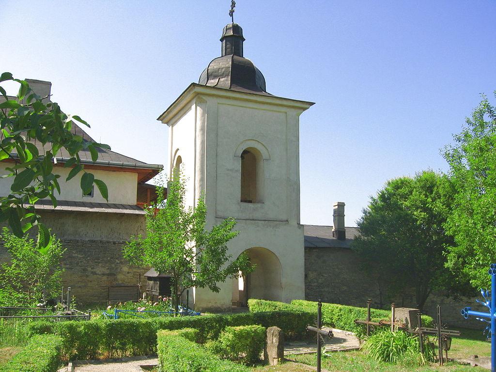 Manastirea Hlincea turnul clopotnita
