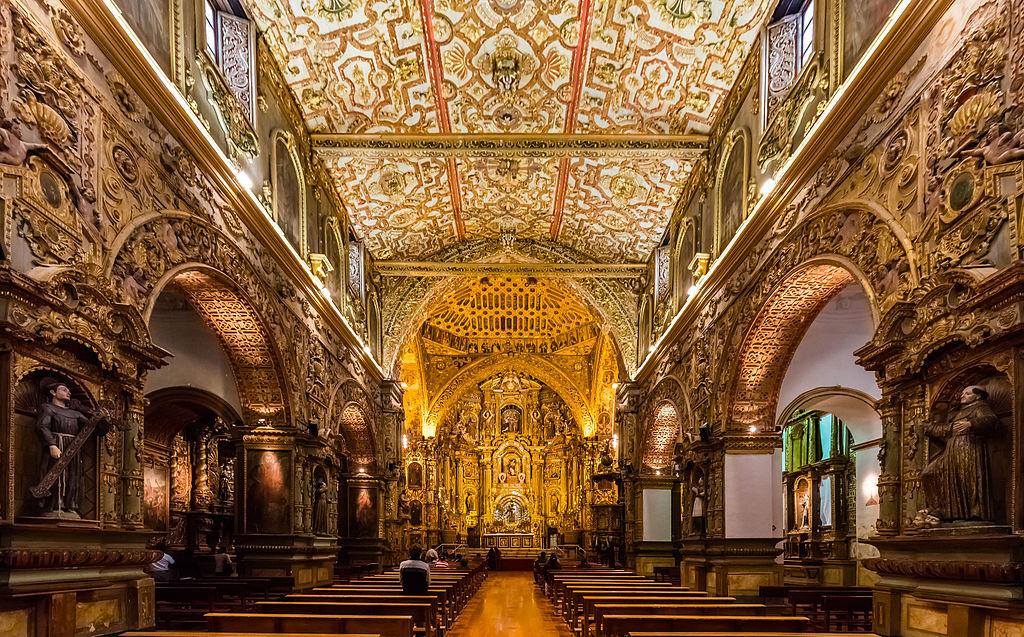 Manastirea San Francisco din Quito1
