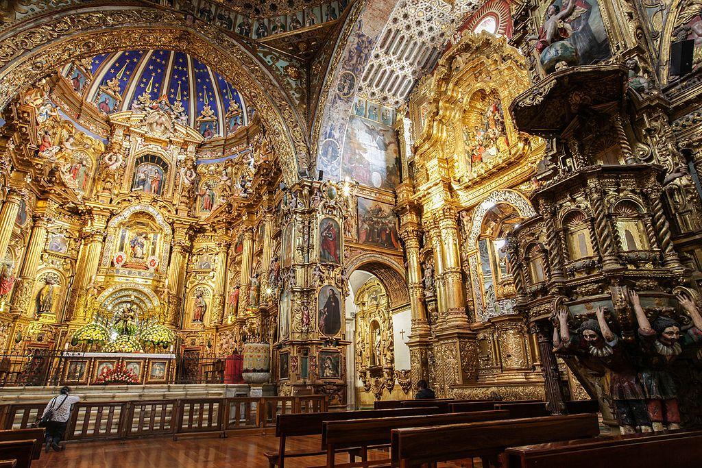 Manastirea San Francisco din Quito11