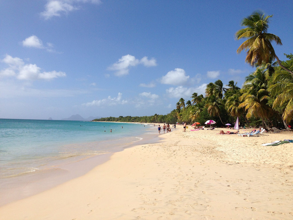 Martinica plaja