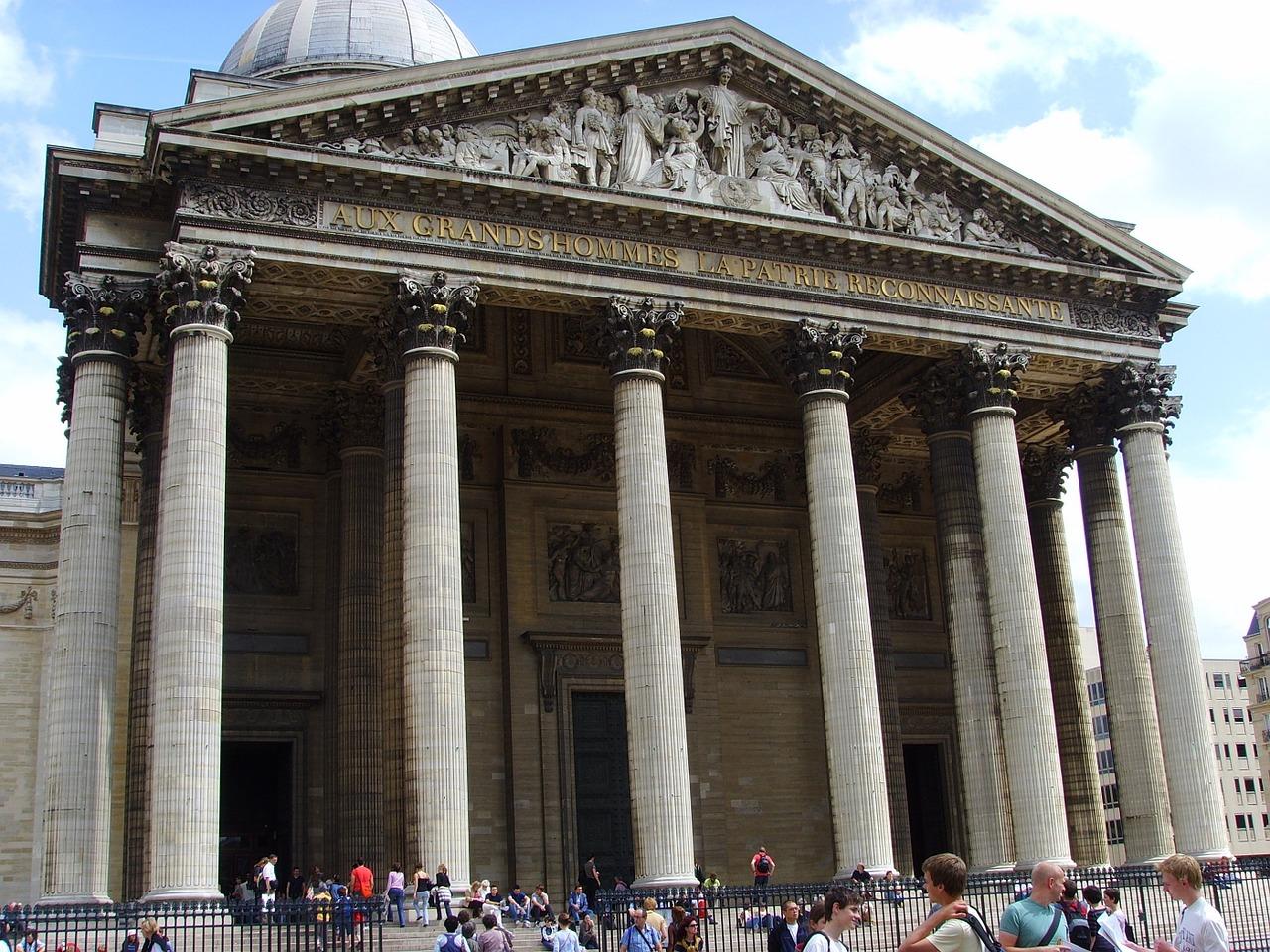 Mausoleul Pantheon din Paris1