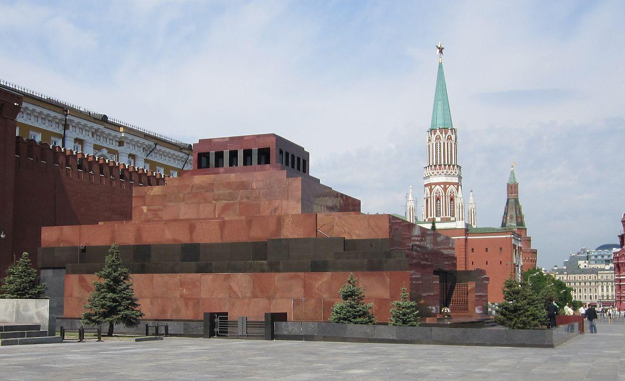 Mausoleul lui Lenin din Moscova11