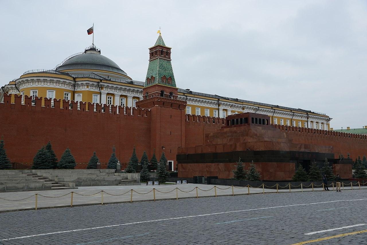 Mausoleul lui Lenin din Moscova111