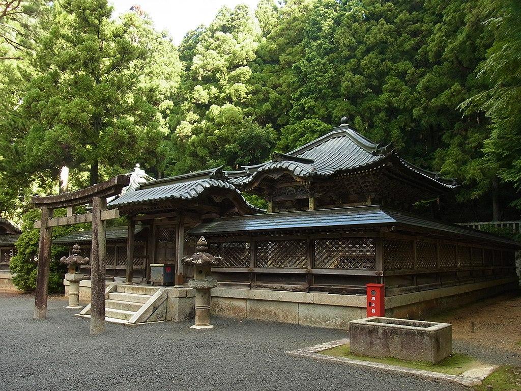 Mausoleul lui Tokugawa Ieyasu111