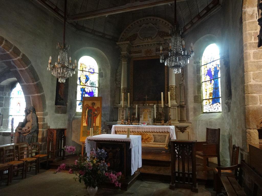 Mont Saint Michel interior1