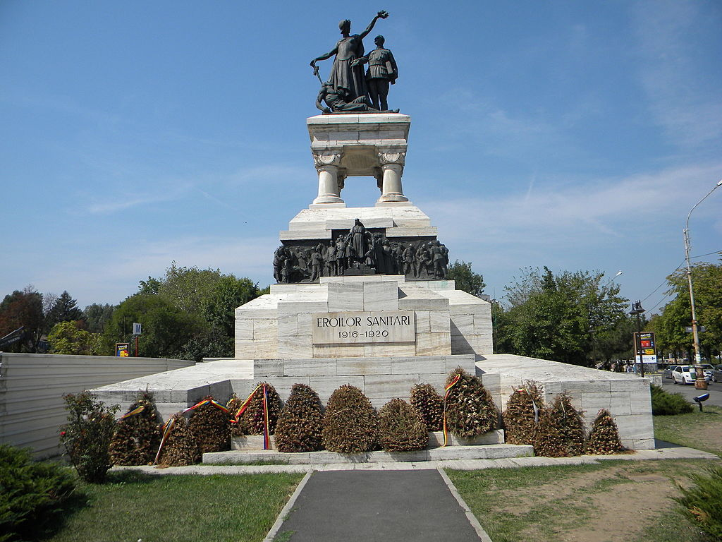 Imagini pentru monumentul eroilor sanitari photos