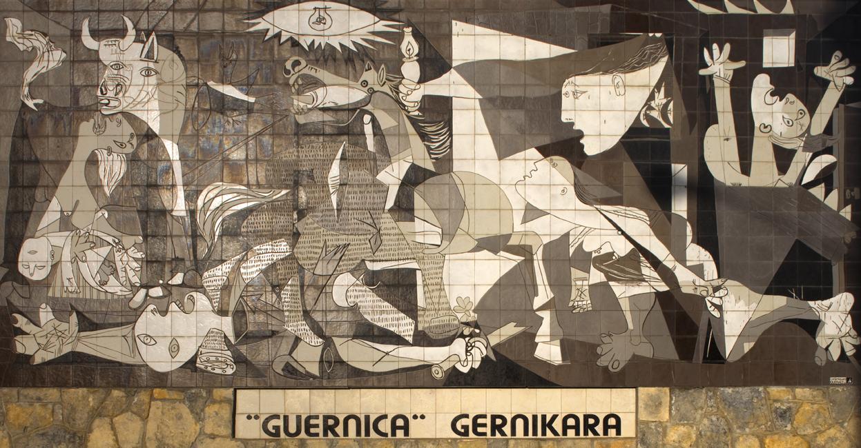 Monumentul inchinat pacii din Guernica