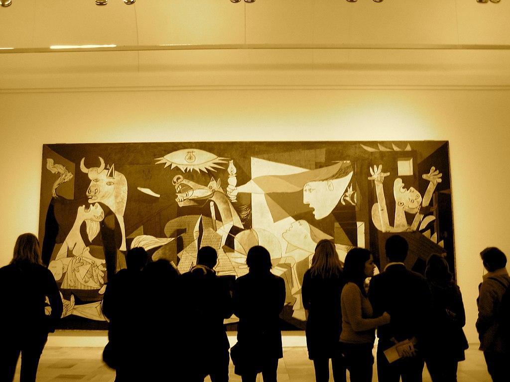 Monumentul inchinat pacii din Guernica111