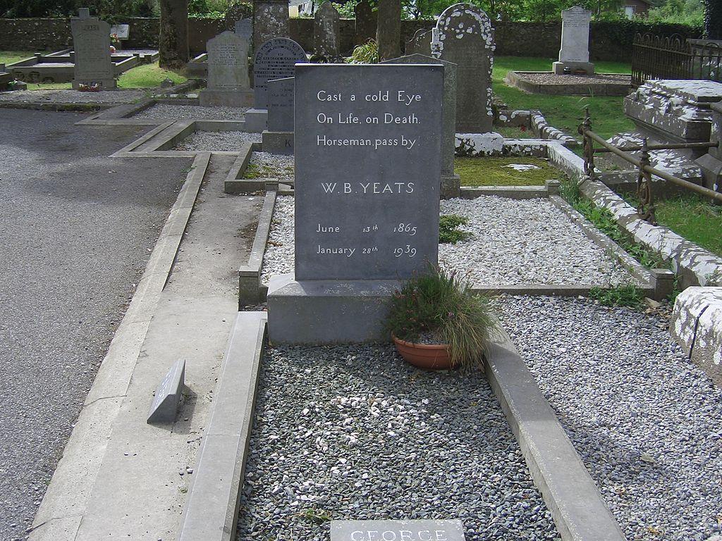 Mormantul lui W. B. Yeats11