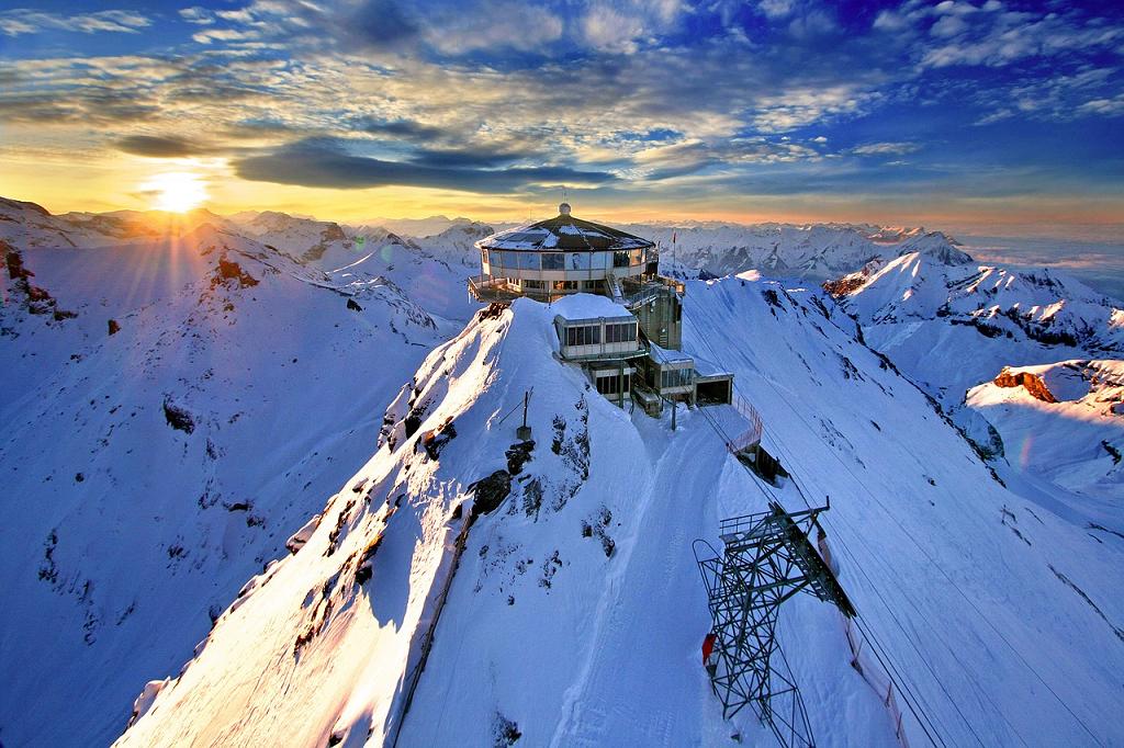 Muntii Alpi Elvetia