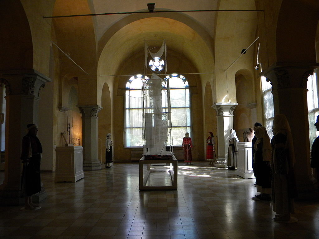 Muzeul Țăranului Român interior