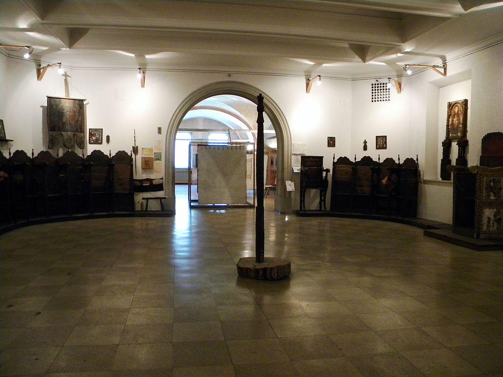 Muzeul Țăranului Român interior1