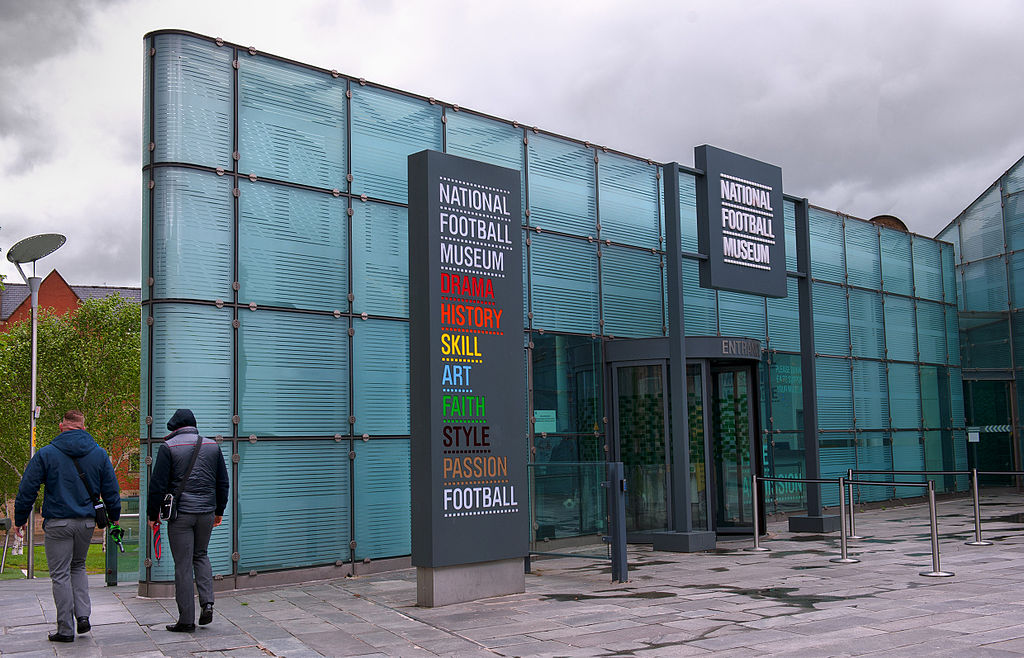 Muzeul de fotbal din Manchester
