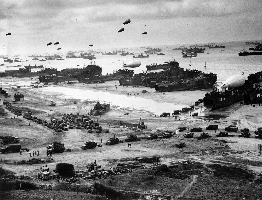 Normandia in timpul razboiului
