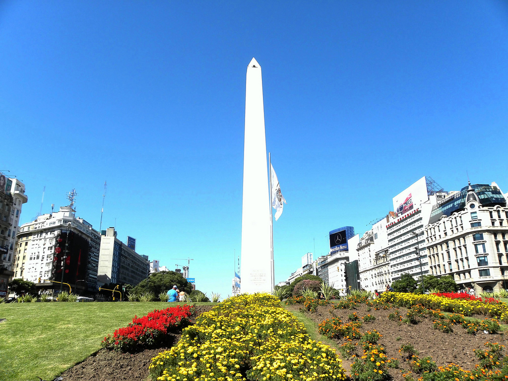 Obeliscul din Buenos Aires111