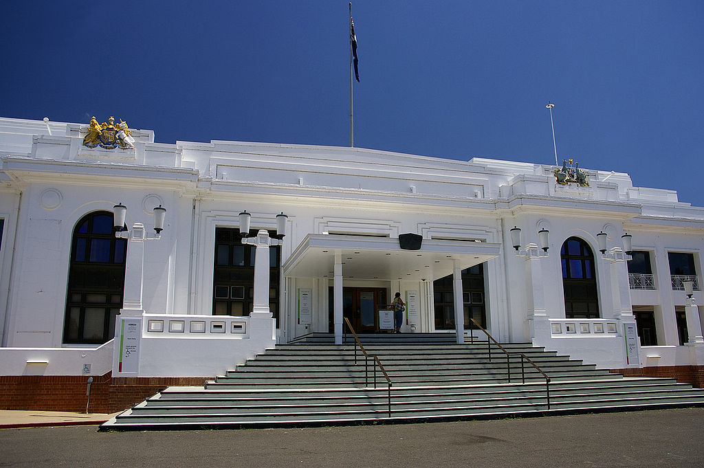 Old Parliament House din Canberra111