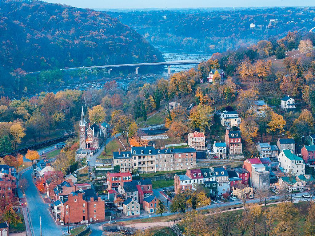 Orasul Harpers Ferry
