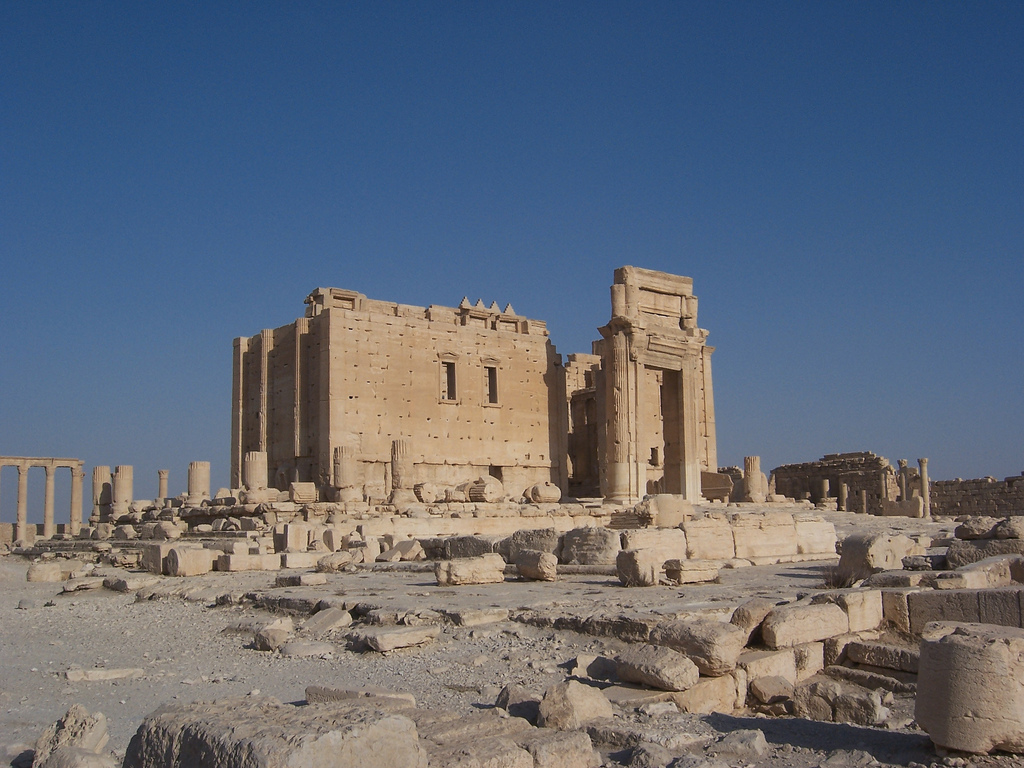 Temple of Baal at Palmyra, Syria. (II)