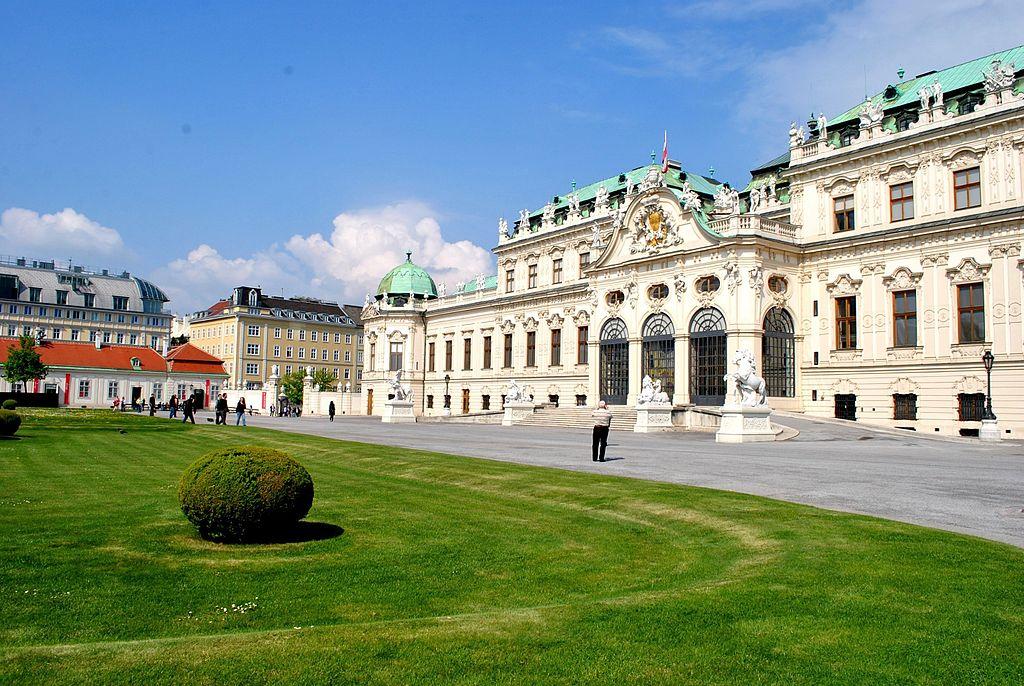Palatul Belvedere din Viena111