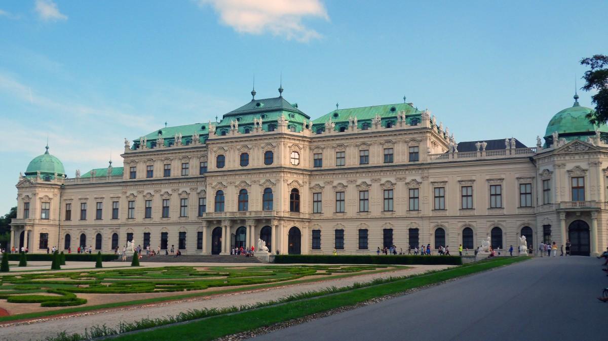 Palatul Belvedere din Viena1111