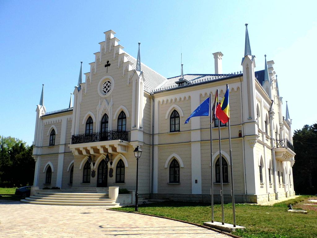 Palatul Cuza de la Ruginoasa Iasi