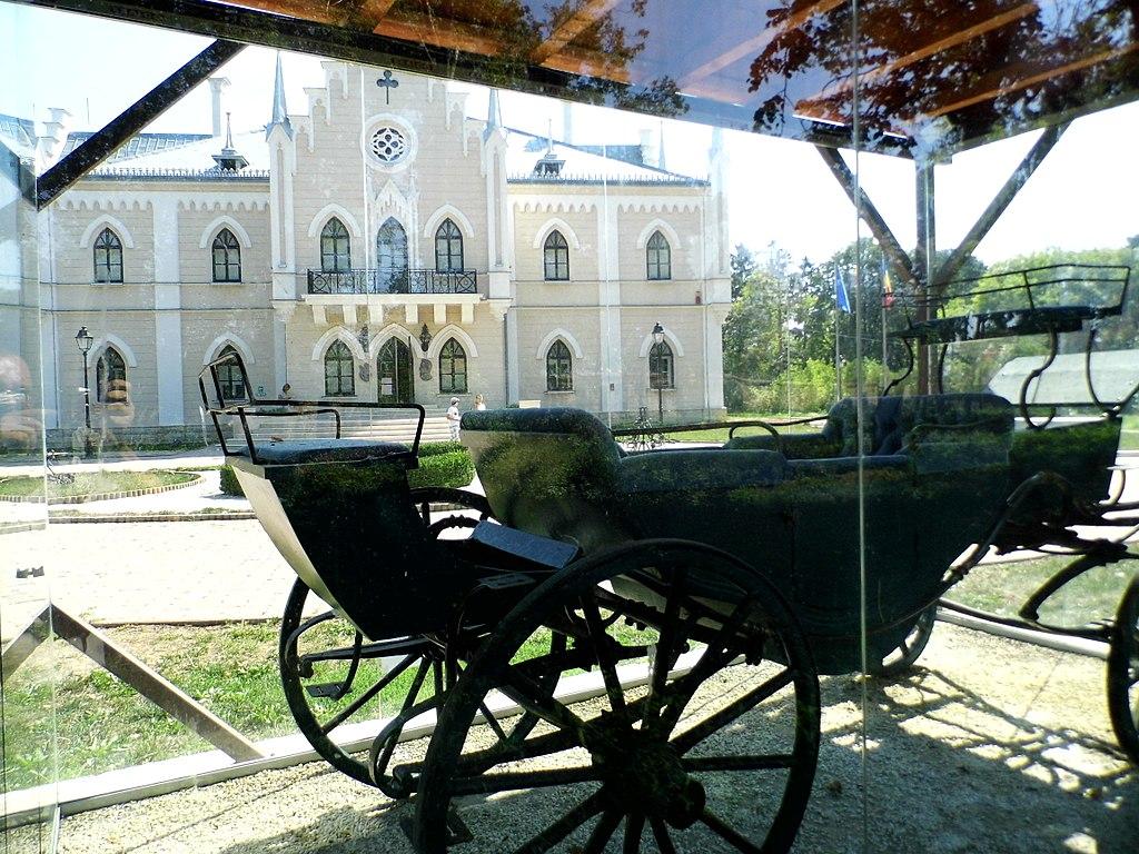 Palatul Cuza din Ruginoasa caleasca voievodala