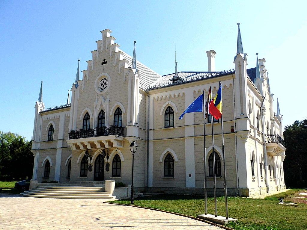 Palatul Cuza din Ruginoasa1