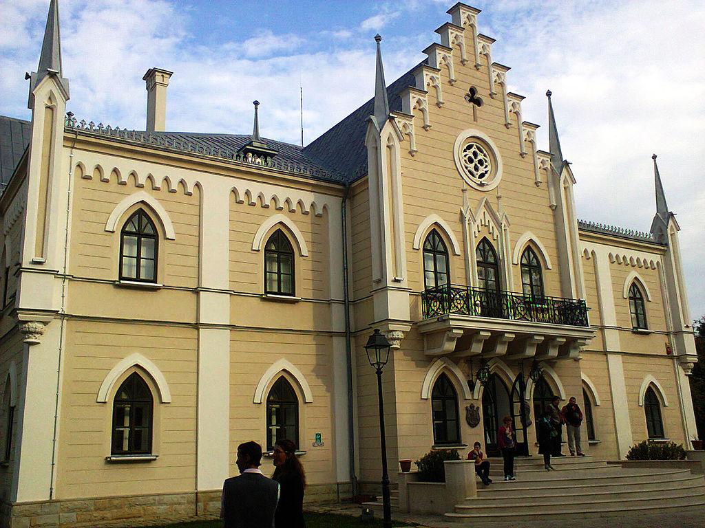 Palatul Cuza din Ruginoasa111