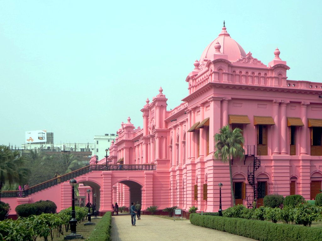 Palatul Roz din Dhaka11