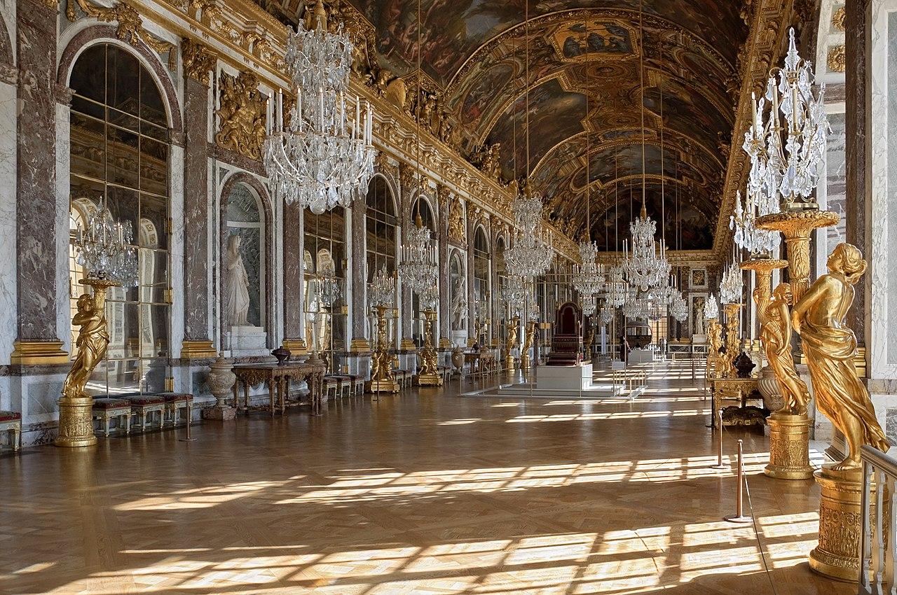 Palatul Versailles Sala oglinzilor