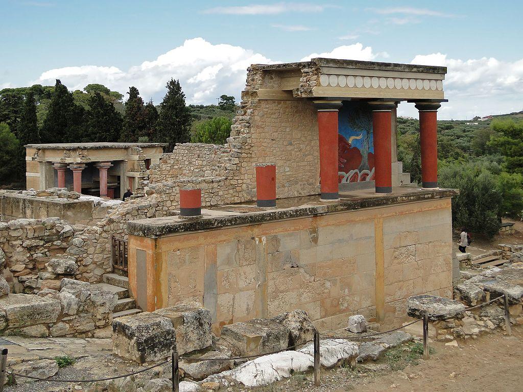 Palatul din Knossos1