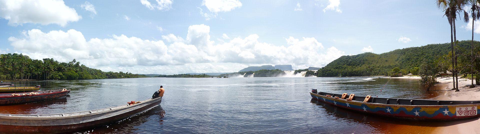 Parcul National Canaima laguna