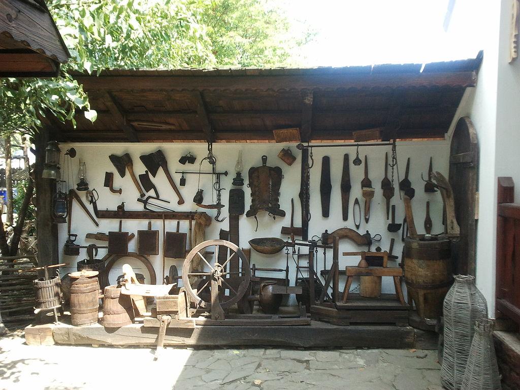 "Parcul tematic ""Ion Creangă"" obiecte"