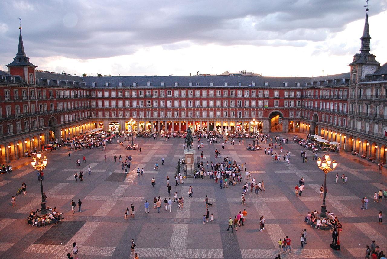 Plaza Mayor din Madrid
